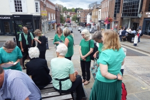End-of-Term Concert, Guildford High Street July 2019